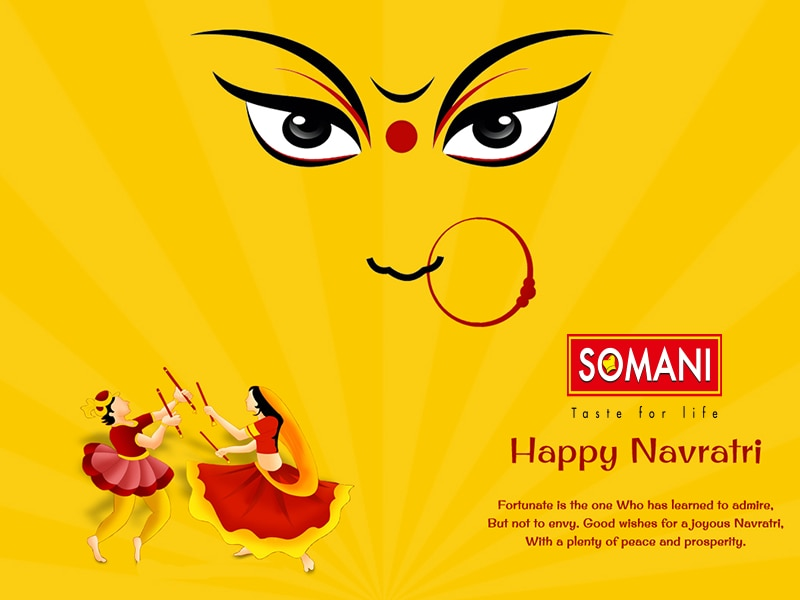 somani caterers wishes you joyous Happy Navratri   For Wedding catering and Corporate Catering contact now   +91 9825871412