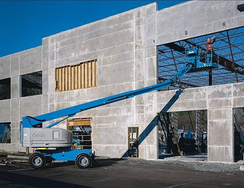Boom Lifts for Rent in Chennai  Genie boom lifts are used in the construction of the tents — first to assemble the tent framework and then to help with the covering