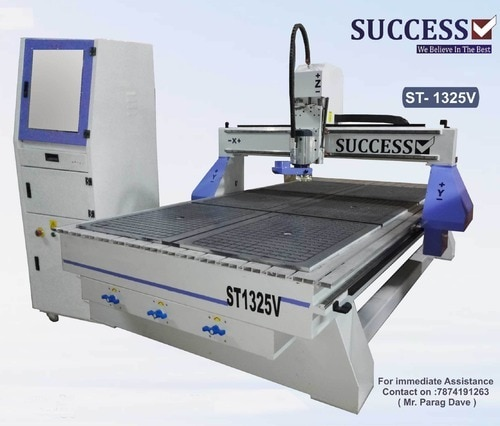 Our company holds expertise in offering a wide range of CNC Engraving Router Machine which is widely known for user friendly nature and required minimum maintenance. We offer our range with water cooling spindle motor to avoid any temperature.