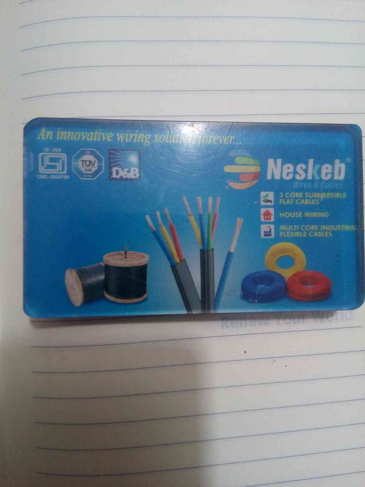 Neskeb Cables pvt ltd is Manufacturing and supplier of Submersible Flat Cable in Rajkot. supplier in Ahmedabad, Surat and Gujarat.