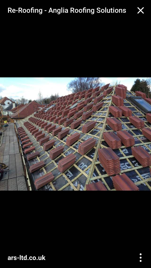 New roof ready to go