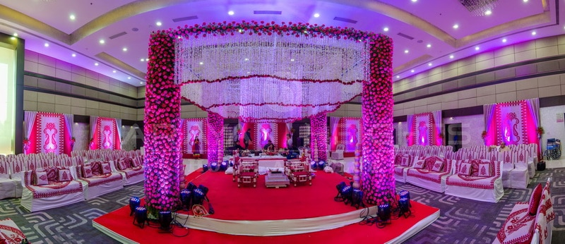 Wedding is a lifetime bond between two individuals who are truly in love with one another and who wish to spend their entire together. It is a lifetime event that has a lot of stories to tell about. The Wedding Destination @Narayayani Heights helps in capturing the sweet memories of a wedding and also assist in providing a memorable wedding that bride and groom might have dreamt of.  We The Wedding Destination, Narayani heights try  make this occasion a grand one so that it can be cherished for a lifetime.  Make your Dream Come true, Plan Your NRI Wedding destination at The Wedding Destination Narayani Heights.