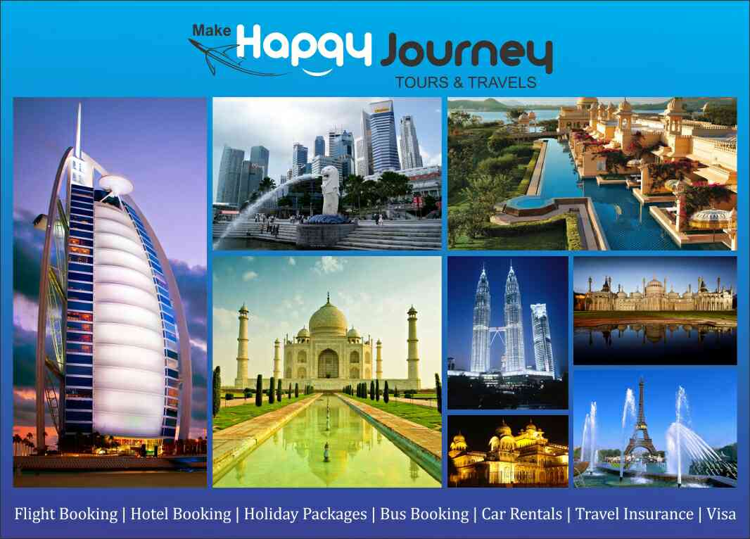 Looking for domestic honeymoon packages????  Make happy journey tours and travels is one stop solution of your requirement in lowest price. we also suggest best destination for you