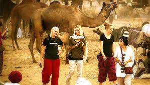 Golden Triangle with Pushkar Tour  Delhi (1) > Agra (1) > Jaipur (2) > Pushkar (3) > Delhi (1)  DAY 1 ARRIVE DELHI  Arrive at Delhi International airport, on arrival you will be met and transferred to the hotel. Overnight at hotel.  DAY 2 DELHI > AGRA (220 KMS / 4 HRS) After breakfast at the hotel transfer to Agra. Arrive Agra & check-in at hotel. Thereafter we visit Taj Mahal and Agra Fort. Overnight at hotel.  DAY 3 AGRA > FATEHPUR SIKRI > JAIPUR (240 KMS / 5 HRS) After breakfast drive to Jaipur the