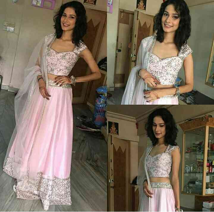 #pink #grey #ghagra #choli #embroidery #wedding dress #party wear #formal wear..#stallion #pink..#mumbai #outlets..Grab this elegant design from #stallion outlets or order us online www.stallion.nowfloats.com WORLDWIDE DELIVERY #stallion