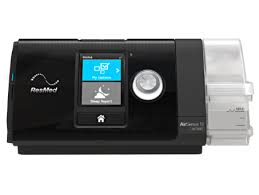 AirSense™ 10 AutoSet™ The ResMed AirSense 10 AutoSet is a premium auto-adjusting pressure device with integrated humidifier, cellular connectivity and advanced event detection. Clinically proven algorithm---The AutoSet algorithm used in the AirSense 10 AutoSet is one of the most clinically published in the field of sleep-disordered breathing.  Full Product Description The ResMed AirSense 10 AutoSet is a premium auto-adjusting pressure device with integrated humidifier, cellular connectivity and advanced event detection.  Clinically proven algorithm---The AutoSet algorithm used in the AirSense 10 AutoSet is one of the most clinically published in the field of sleep-disordered breathing. It works to automatically adjust to each patient's therapy pressure as their needs change – hourly, nightly and from season to season – to deliver the patient's ideal, lowest therapy pressure.  Advanced event detection identifies central sleep apnea, respiratory effort related arousal and Cheyne-Stokes respiration events to provide treating physicians valuable insight into the continued health of your patients.  AutoRamp™ with sleep onset detection delivers a low pressure to help patients fall asleep with ease. Once the patient is asleep, it comfortably ramps up the pressure to the prescribed level.  The quiet Easy-Breathe motor makes for a peaceful environment for the patient and their bed partner.  Expiratory pressure relief (EPR™) maintains the optimal treatment for the patient during inhalation and reduces pressure during exhalation.  SmartStart™ allows the patient to start therapy by breathing in, instead of pressing the 'Start' button.  AutoSet Response comfort setting offers gentler pressure increases and a smoother night's sleep to help patients with high pressure intolerance.  Pulse oximetry monitoring is available.  Integrated humidification simplifies setting up the device and makes therapy easier for your patients.  Using AirView™, you can access nightly therapy data, troubleshoot remotely (using the remote assist feature) and change device settings remotely.  The user-friendly controls, intuitive interface and color LCD screen make it simple to navigate menus and customize comfort settings.  Built-in ambient light sensor adjusts brightness of the screen based on the light in the room and turns off automatically.  Auto CPAP machines dealer in Delhi,  Auto CPAP machines dealer in Naraina,  Auto CPAP machines dealer in South extension,  Auto CPAP machines dealer in Darya Ganj,  Auto CPAP machines dealer in Dilshad Garden,  Auto CPAP machines dealer in Noida,  Auto CPAP machines dealer in Gurgaon,  Auto CPAP machines dealer in Faridabad,  Auto CPAP machines dealer in Ghaziabad,  Auto CPAP machines dealer in Lajpat Nagar,  Auto CPAP machines dealer in East Delhi,  Auto CPAP machines dealer in west Delhi,  Auto CPAP machines dealer in North Delhi,  Auto CPAP machines dealer in South Delhi,  Auto CPAP machines dealer in Central Delhi,