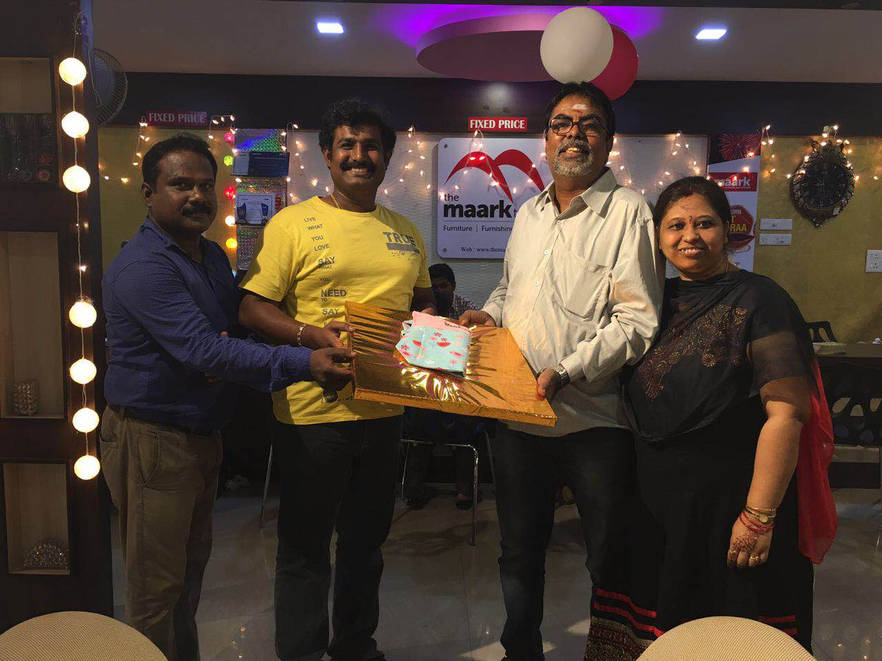 We are happy to do the service to our VIP customer Mr.Krishnan sir and family, pleasure to serve.diwali sale is going on ..one big reason to get furniture to your home for this Diwali ..get extra Diwali ..no 1 furniture retail showroom in Coimbatore .
