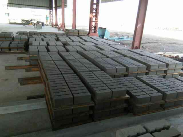 Fly ash bricks at dhanbad
