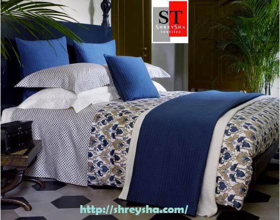 #Bed Linen manufacturer - Bed Linen suppliers - Bed Linen exporters  Buy online largest collection of Bed Linen, Bed Sheet, Bed Cover in different color, design, pattern, textile, fabric and size at best prices. In additions, Shreysha Textiles provides a wide collection of home accessories Curtains, Pillow, Cushion, Throws, Quilts, Table Linen, Kitchen Linen, Beaded Collection, Christmas Collection and more home related products at best discount. We provide special offers in all home decor accessories. So, buy online and to make more decorative your dream home.  visit for more details : http://www.shreysha.com/