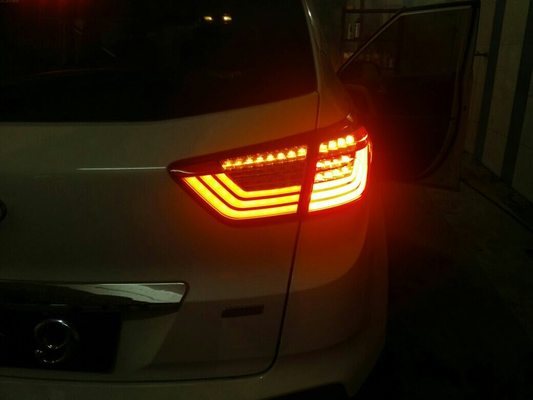 fancy tail lamps for