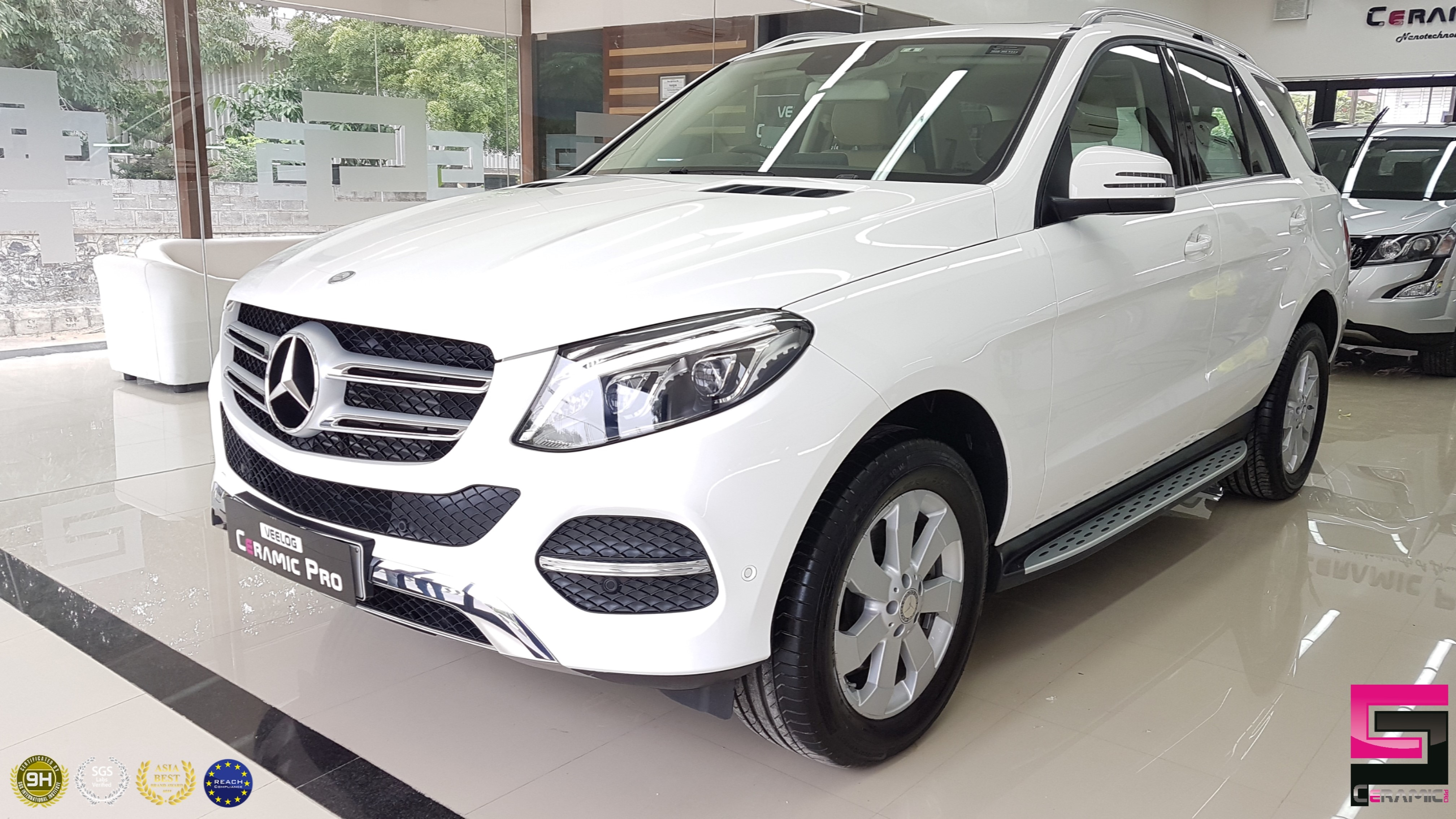 Ceramic Pro 9h Diamond Package  Mercedes GLE Premium Paint Protection With Interior Treatment Super Hydrophobic Scratch Resistant Superior Glossiness