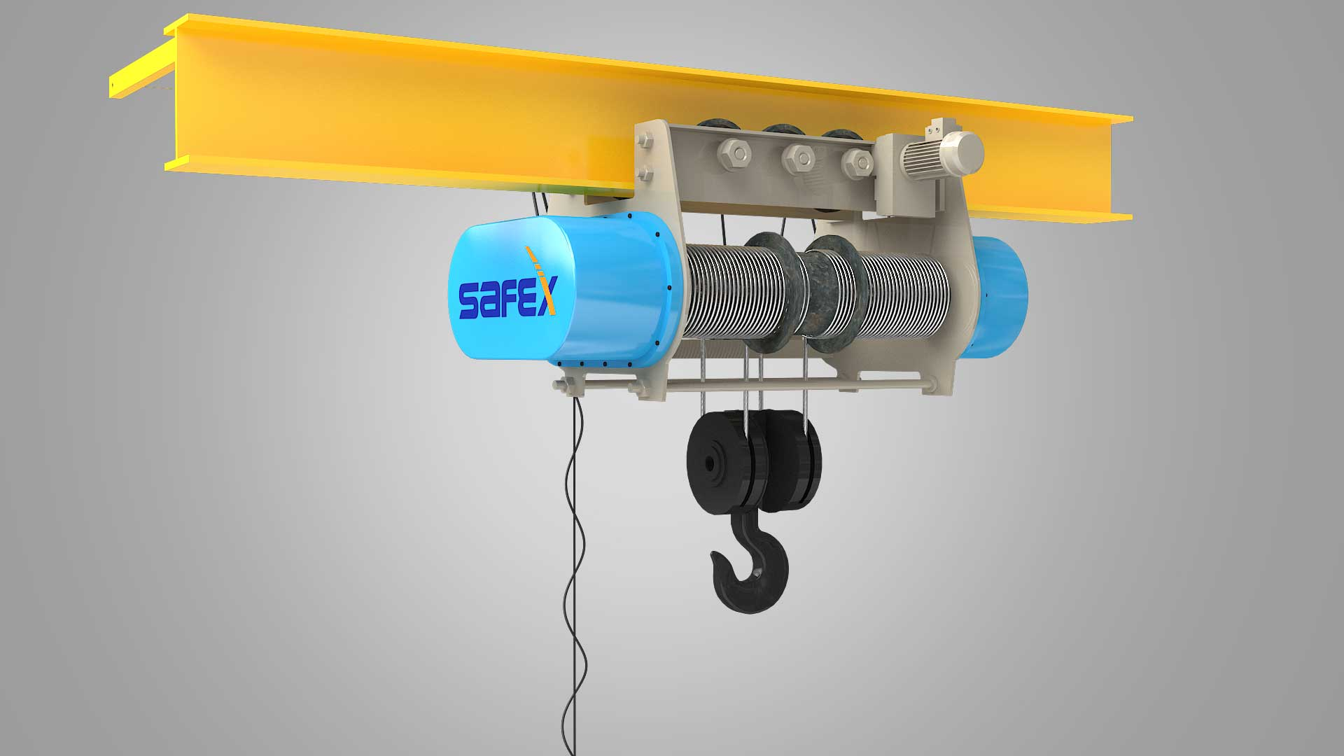 We are the Prominent Manufacturer, Supplier and Exporter of ELECTRIC HOIST in Saudi Arabia