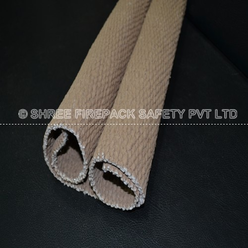 Vermiculite coated ceramic cloth from shree firepack safety pvt ltd.  Technical textiles grade Vermiculite Dispersion works Easily applied using all fabric coating techniques;