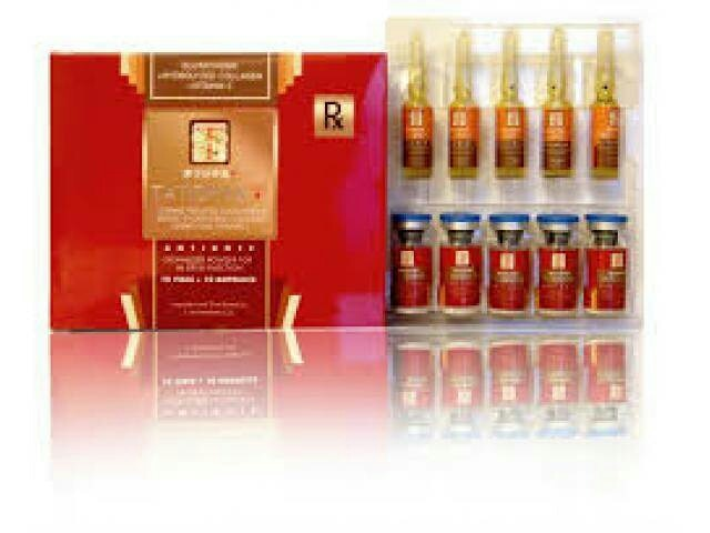Tatiomax plus glutathione with collagen has DOUBLE the glutathione content of other brands   FORMULATION:  Reduced Glutathione 1200 mg (Lyophilized powder) Hydrolyzed Collagen 200mg   DESCRIPTION:   L-Glutathione is a compound classified as a tripeptide made of three amino acids: cysteine, glutamic acid, and glycine. Glutathione is also found in every part of the body, especially the lungs, intestinal tract, and liver. The body produces and stores the largest amounts of GSH in the liver, where it is uses to detoxify harmful compound so that they can be removed from the body through the bile. The liver also supplies GSH directly to red and white blood cells in the bloodstream; it helps keep red blood and white blood cells healthy to maximize the disease-fighting power of the immune system. Glutathione also appears to have an anti-aging affect on the body. There is no Recommended Dietary Allowance (RDA) for GSH, but supplements have no known harmful side effect. Glutathione supplements can be expensive, but there is some question about the body's ability to absorb GSH efficiently in supplemental form. If you want to take GSH supplements, just make sure to take them with meals to maximize absorption. The usual dose for extra glutamine is anywhere from 1, 000 to 5, 000 milligrams.   INDICATIONS: Different alcoholic liver diseases (alcoholic fatty liver, alcoholic liver fibrosis, alcoholic liver cirrhosis, and acute alcoholic hepatitis). It is an emergency antidote in treatment of poisoning by radiotherapy drugs and chemicals.  RECOMMENDED DOSAGE: 1-2 vials, once or twice a week via IV or IM   Inclusions 1200mg x 10 vials glutathione powder 10 syringes 10 winged cannula (butterfly) 10 5ml PNSS 10 Vitamin C ampoules FREE SHIPPING   ADVISORY  1. All glutathione sets come with complete IV sets with vitamin C unless otherwise stated. All collagen sets come with complete IM sets. An additional vitamin C tray of 10 ampoules may be purchased for P150.00.  2. Provincial Shipping