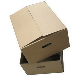 Corrugated Fruit Box.  We are offering Corrugated Fruit Box.  Use:      Use for transportation of goods with safety and security     Use for packing, shipping and storing goods    Features:      Lightweight     Superb strength     High load carrying capacity