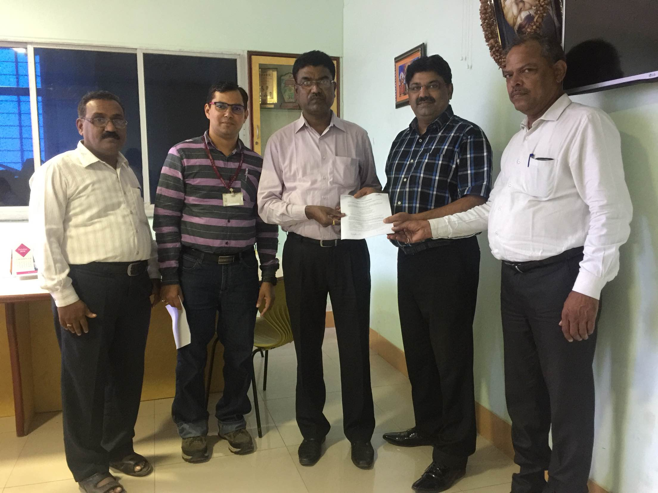Today Signed MOU with Konkan Gyanpith College of Engineering for Employment Assessment and Placement of Final Year Engineering Students!