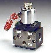 """""""Poppet Type Solenoid Valves""""  We are one of the recognized traders and suppliers of'Poppet Type Solenoid Valves', which are developed in different specifications and in adherence with the industry standards. We offer these 'Poppet Type Solenoid Valves' at reasonable rates and in varied specifications. Clients may take the benefit of on-time delivery facility also. Apart from this, these are known for their strength and high durability.   'Poppet Type Solenoid Valves' are used to electrically direct hydraulic fluid to and from an actuator by shifting a spool or poppet within the valve. These 'Poppet Type Solenoid Valves' can be 2, 3, 4, or even 5 way valves shifted by either one or two electronic coils."""