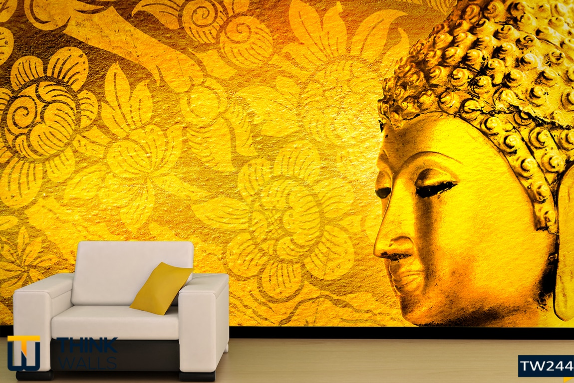 This magnificent textured 3D Customised Wallpaper has a lot more to ...