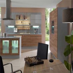 We offer stylish modular kitchen which is both stylish and trendy. This stylish modular kitchen is manufactured using finest quality of wood procured from various trees. This modular kitchen has various racks and cabinets which are provided to arrange the various kitchen utensils. This modular kitchen can be installed with ease and provide a sophisticated look to the interiors.  Stylish Modern Kitchen in vadodara, Gujarat.  Stylish Modern Kitchen in alkapuri, subhanpura, gotri, race course, vadodara.