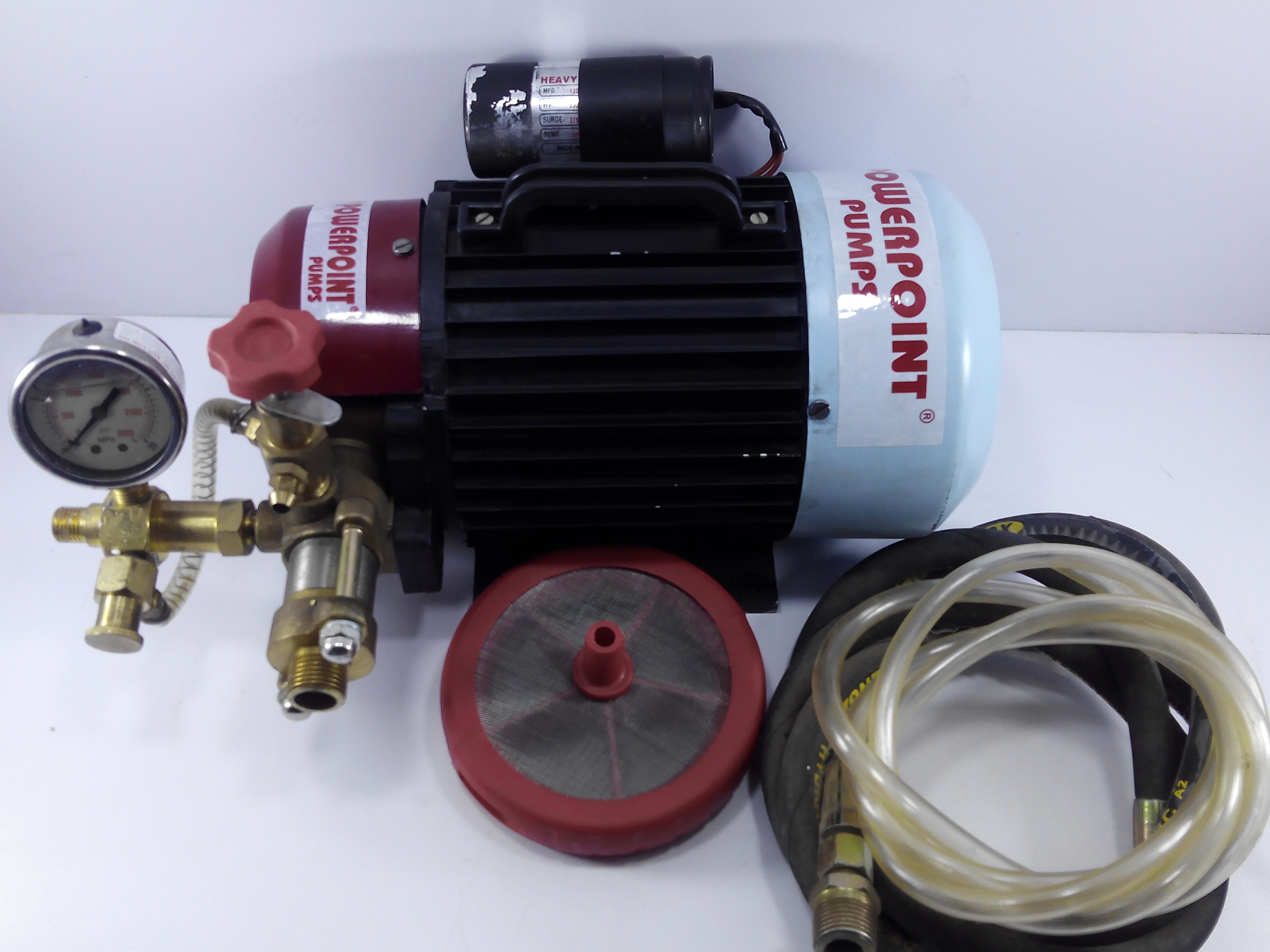 High Pressure Hydro Testing Pumps available in motorised & manual options now available in Kolkata with Mach PowerPoint Pumps