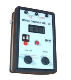 DIGITAL ELECTRIC MOTOR CHECKER . EMC-38. Diagnose all your motor related problems. Find whether the problem is electrical or mechanical. Insulation Tester @ 1000VDC. www.motorchecker.in