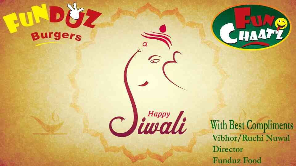 Funduz Burgers wishes all of you a very Happy Diwali and lot of prosperity.