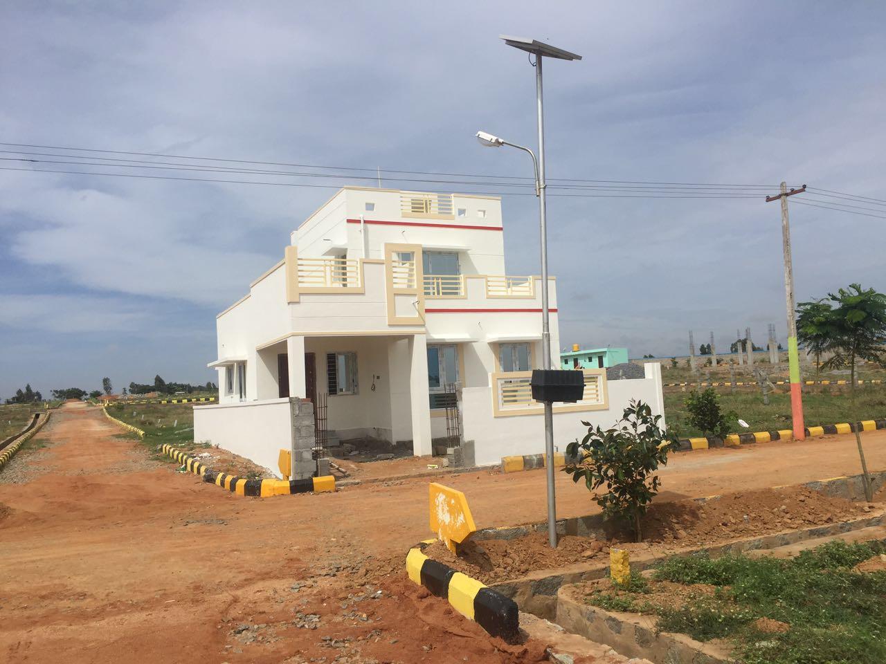 gated community villa in hosur