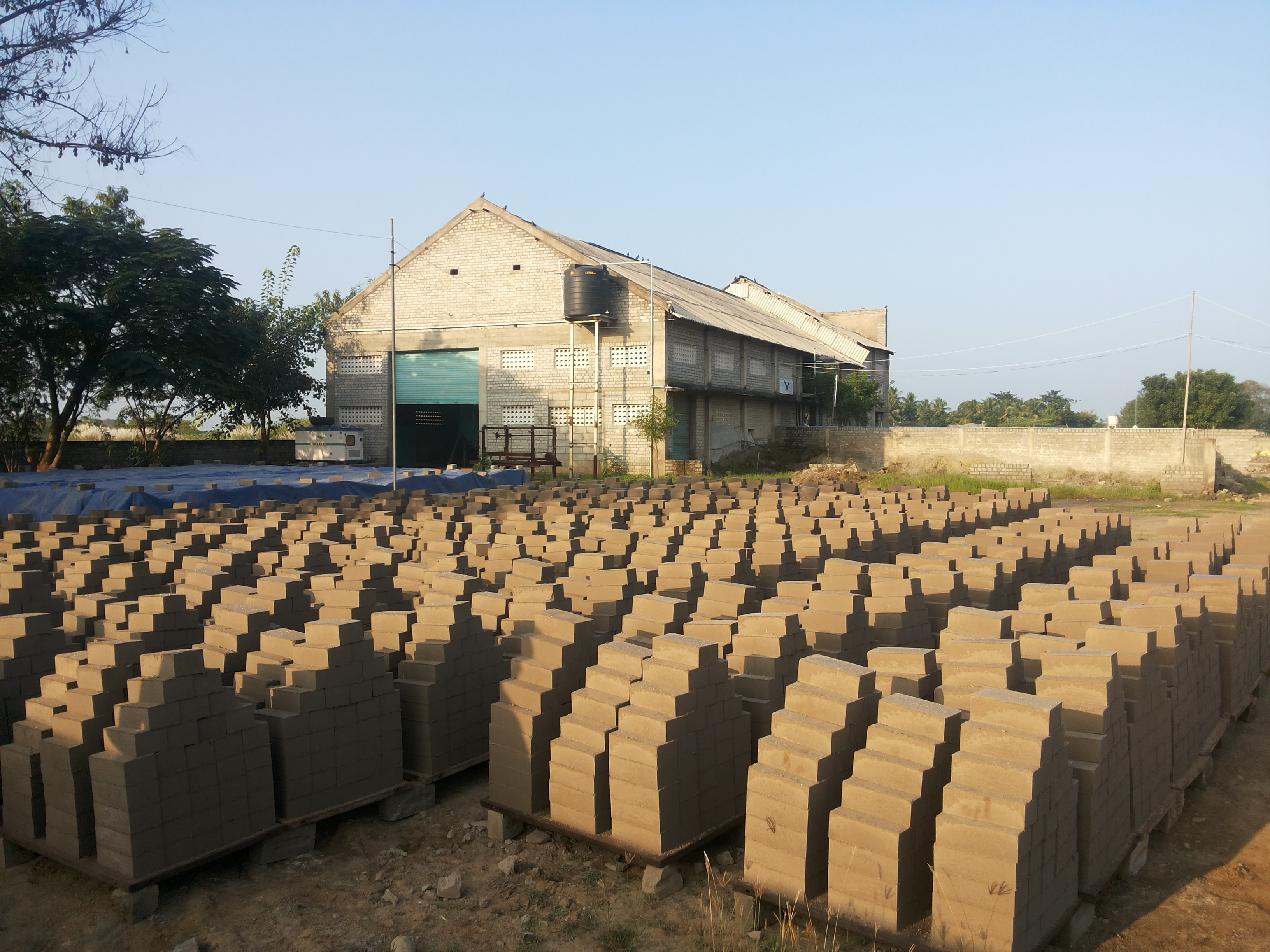 Ponmani Flyash Bricks - good and quality flyash bricks in madurai