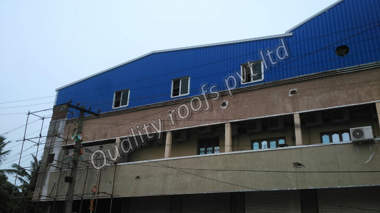 Roofing Chennai                      We are the Chennai's No.1 Roofing Contractors. The offered range is examined on stringent quality parameters by our quality controllers to ensure a flawless range to deliver at clients end. Being manufactured using superior quality raw material and dexterous workers in tandem with set international norms, it is widely admired for its fine finish and excellent quality. We provide it to our clients at affordable prices within the estimated delivery time. It is available in various sizes and other related specifications in order to cater to diverse requirements of our clients. Moreover, clients can avail the offered cladding from us at highly affordable prices.