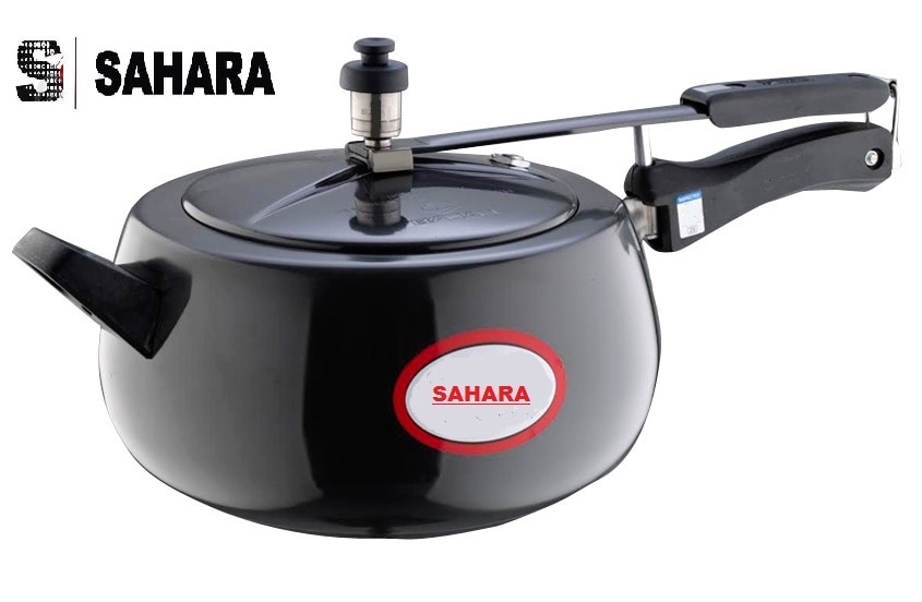Hard Anodized Pressure Cooker In India  Hard Anodized Aluminum Cookware Is Twice As Hard As Stainless Steel And is Made from original Hindalco Make Aluminium. used in Hard Anodized Cookwares  Buy Online - www.pressurecookeronline.in.