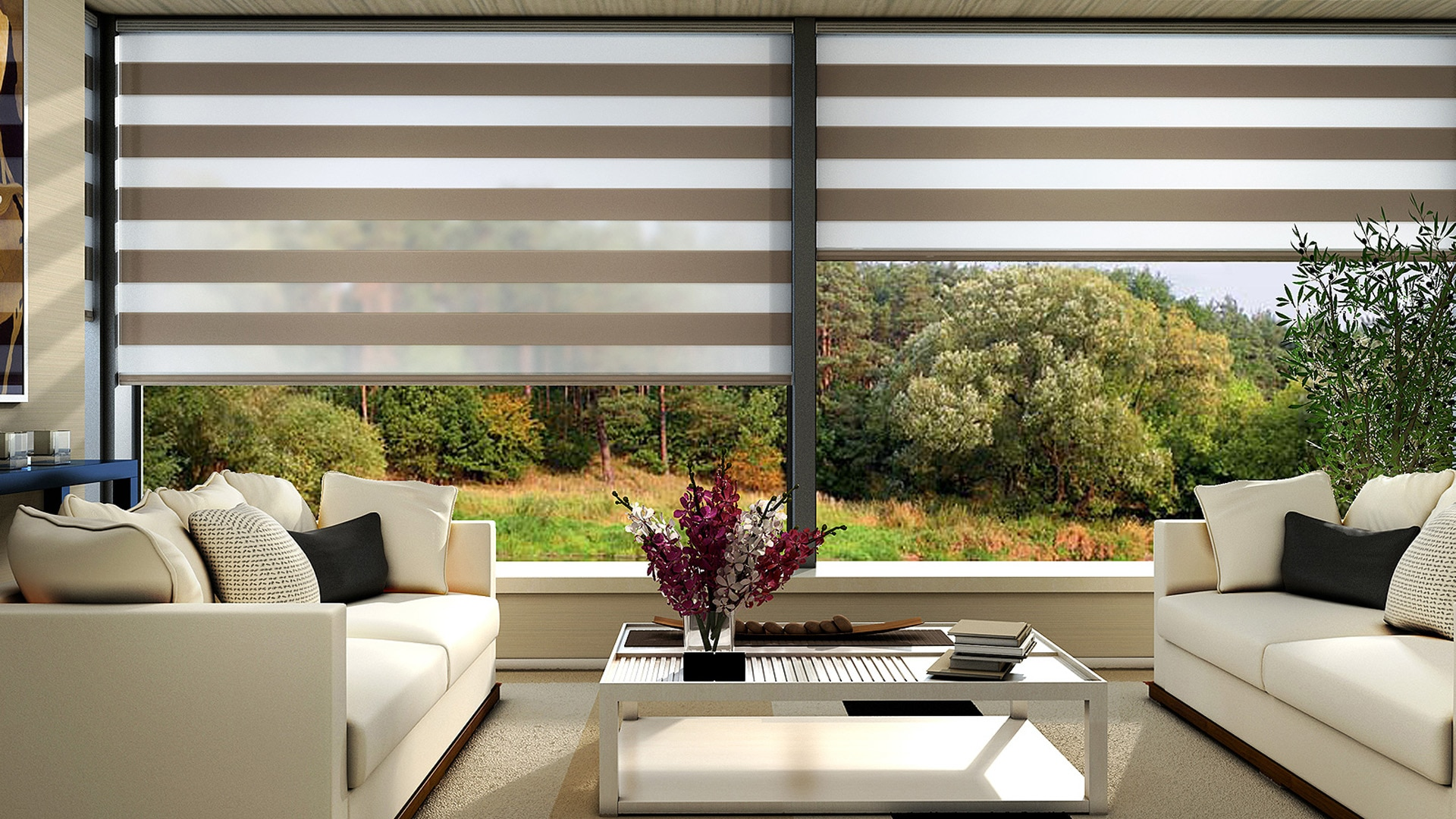 Zebra Blinds in Delhi & NCR  Blinds are nowadays not just for hiding or partitioning. These are also now used as an Item that beautifies your Room Decor. For getting attractive and Designer Blinds, contact us!!  For more details, please visit www.maxblinds.co.in