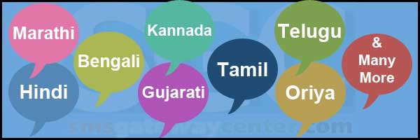 Unicode Bulk SMS with Regional Language  No setup costs | No license costs | No monthly costs | No sender ID cost |  You just pay a small fee per SMS | FREE API Integration Code  Send bulk SMS now in different regional languages like Bengali,  Hindi etc. Infonet provides Bulk SMS with Unicode service in India for national and regional languages.  With our Unicode Regional Language Message Service, you can now send SMS in some Indian languages listed over here. The major benefit with this is; a proper target and better reach to your potential customers.  Bulk SMS Unicode Regional Language Features : No Additional charges for different language Avail both Transactional & Promotional service feature
