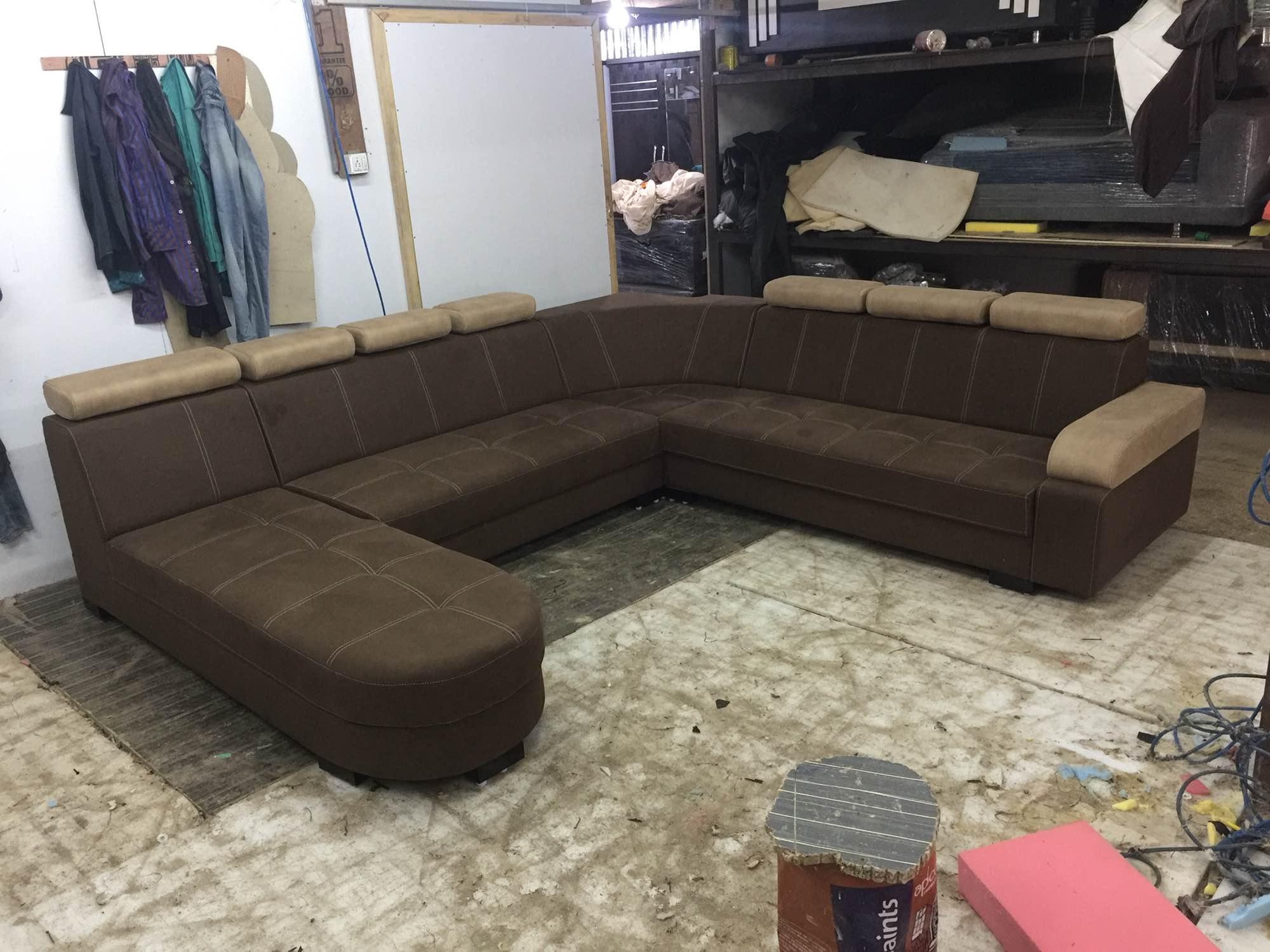 c shaped sofa