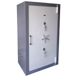 Manufacturer Of Heavy Iron Safes In Mumbai  We manufacture customized Heavy Iron Safes. We provide electronic or mechanical combination locks for additional safety. Our complete array is widely appreciated for their features like quality, reliability and durability. We also customize these products as per the requirement of customers.