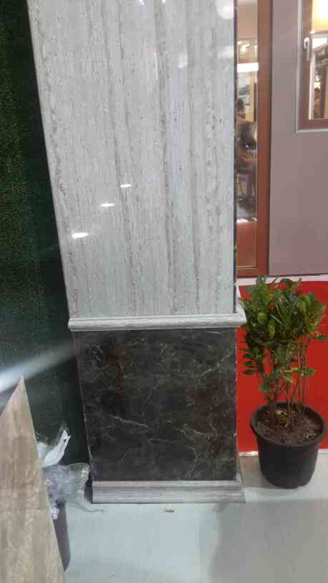 Eco stones for Pillar  ( Italian Marble effect ) 4mm Sheets.