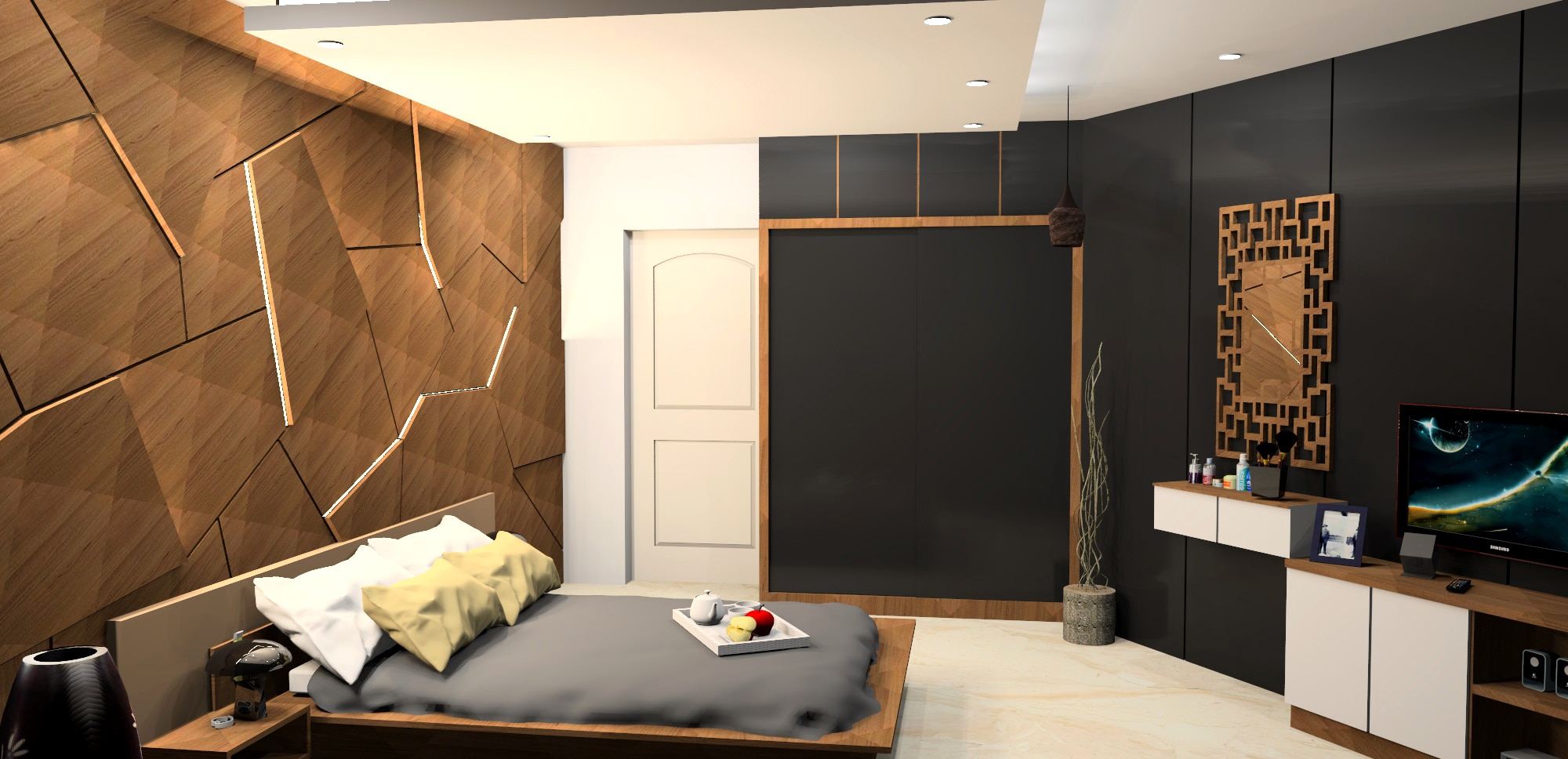Master Bedroom Design - This is an inspiration to eclectic