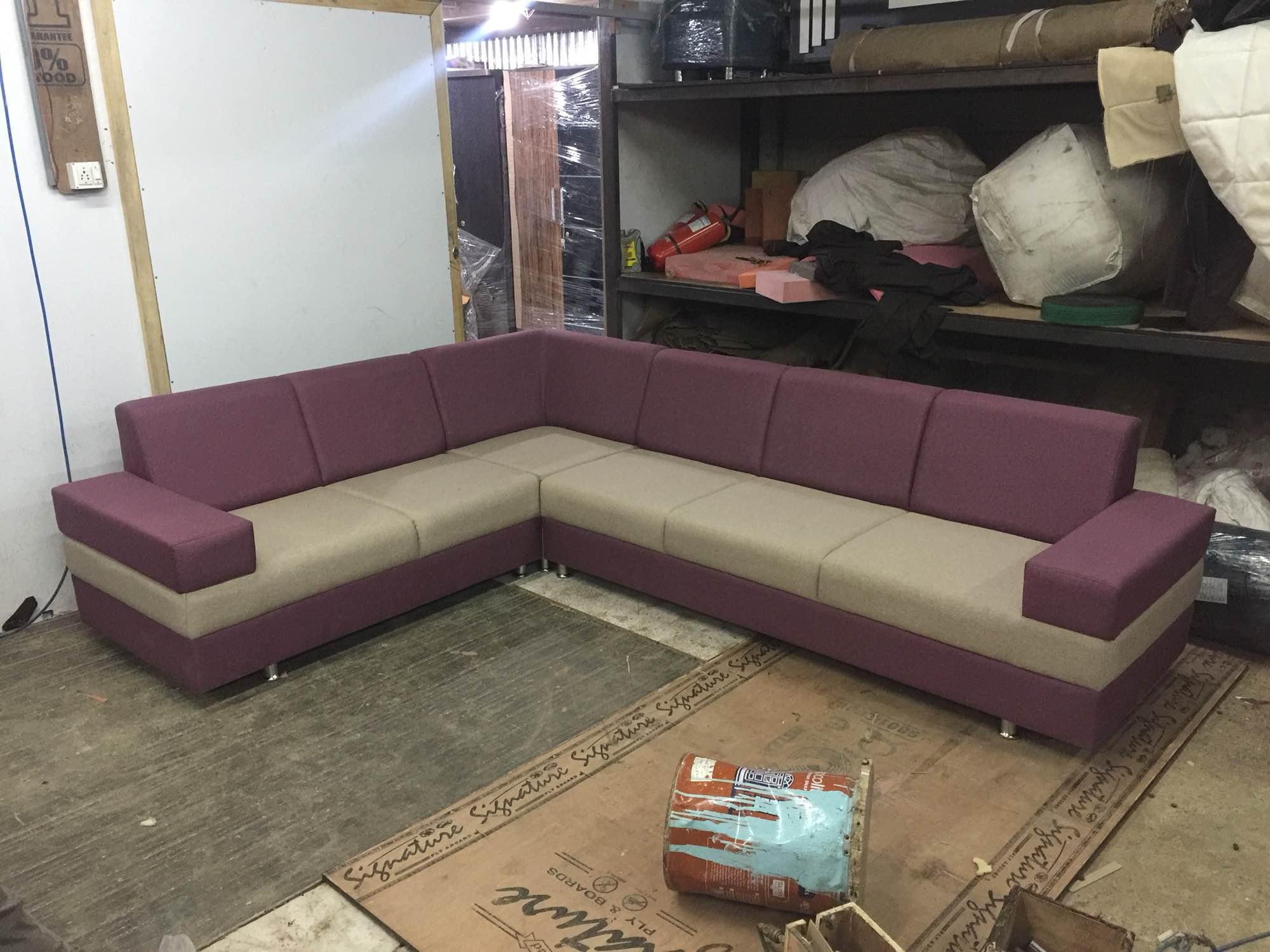 sofa ready display Akshar Furniture in Ahmedabad India