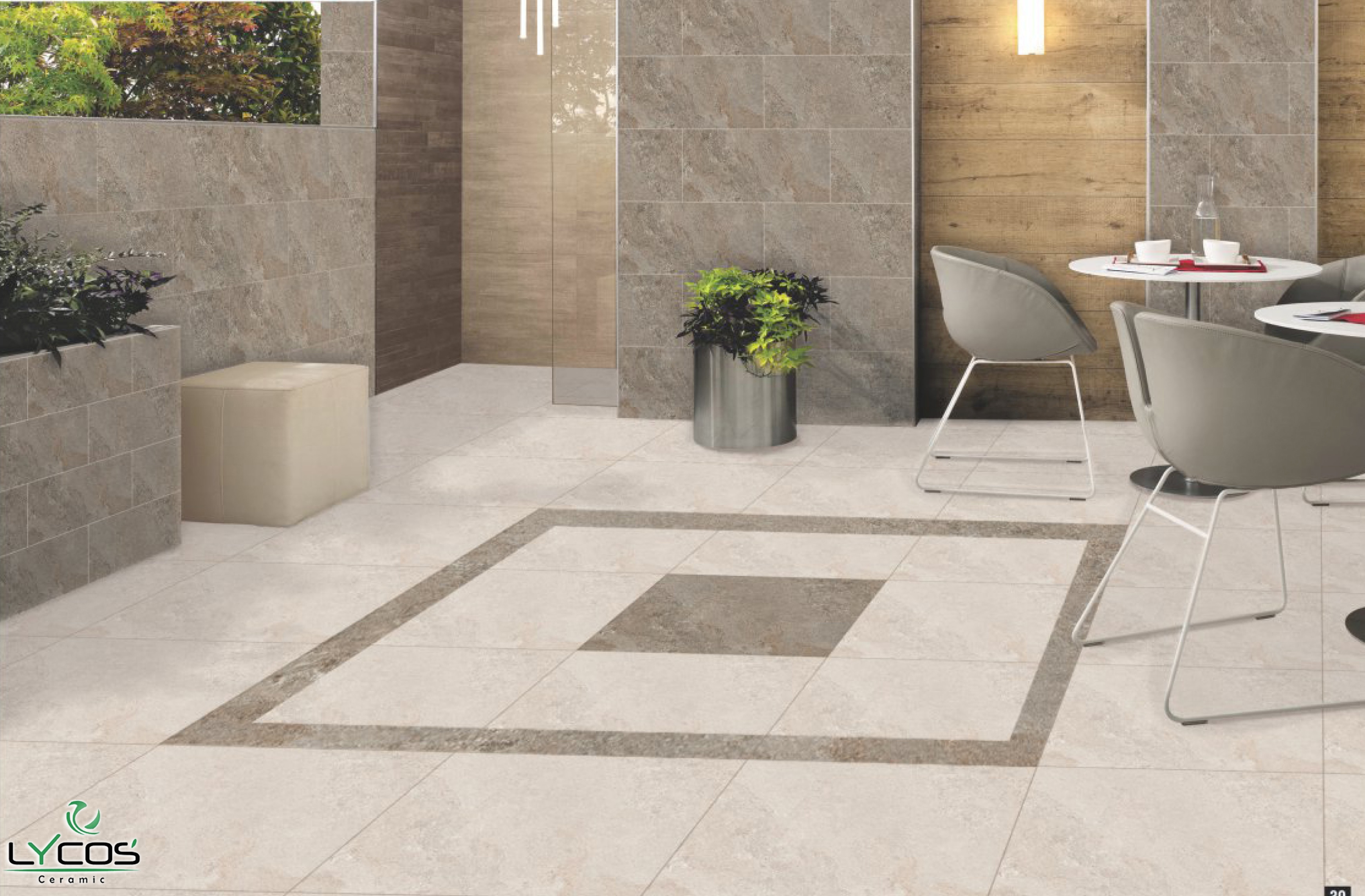 CERAMIC FLOOR TILES MANUFACTURER Excellence : Lycos Ceramic - India
