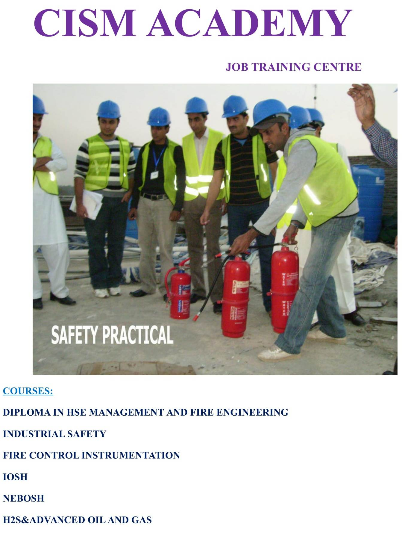 CISM Academy Safety Training