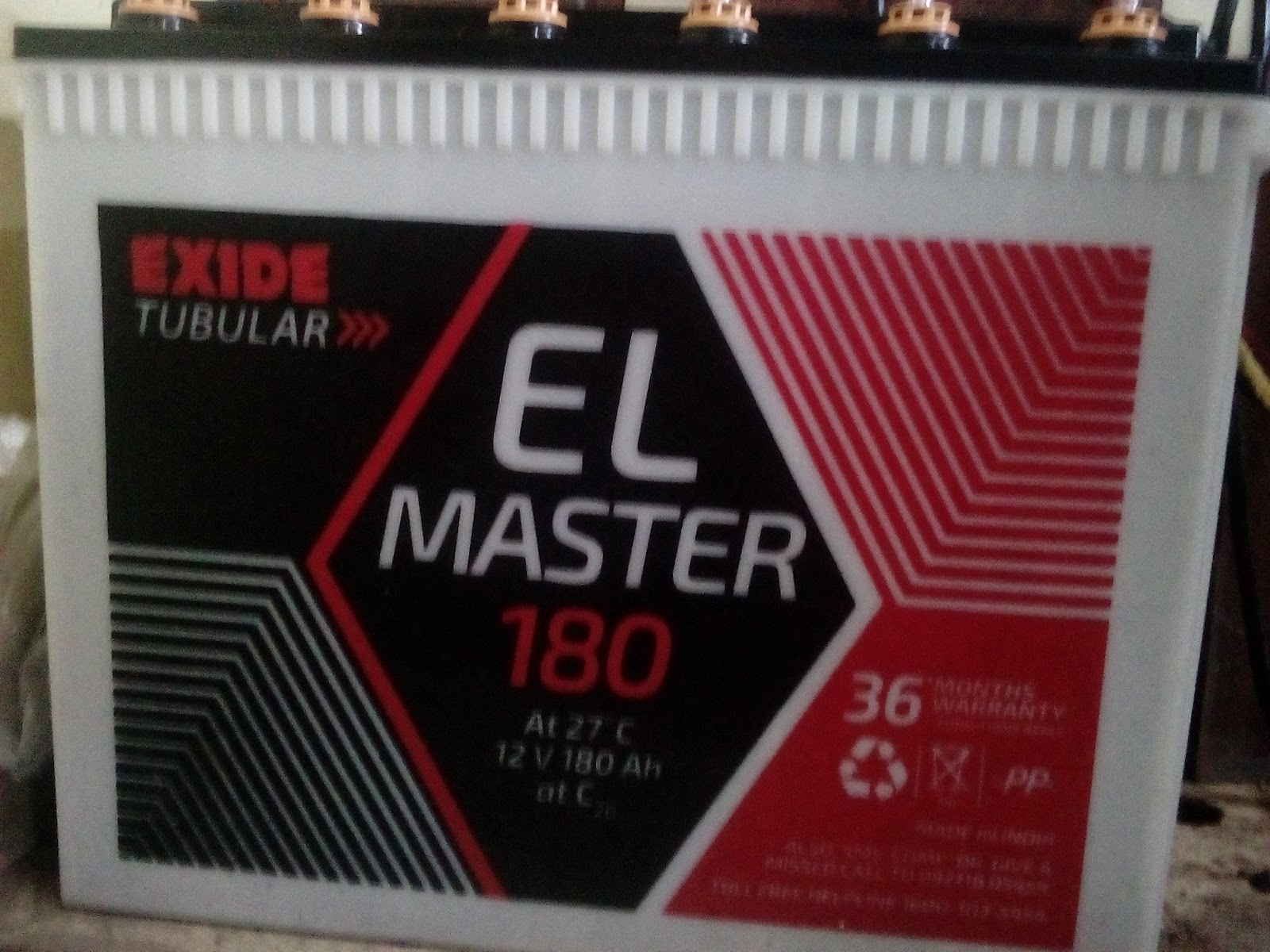 Exide Launched its ELM battery range with 3 years warranty.   We are the dealers for Exide ELM batteries in delhi NCR  For best prices of ELM range of Exide batteries.  Exide ELM 120 Exide ELM 130 Exide ELM 130 Exide ELM 8500  Contact Us  http://www.cosmicsystems.in/  9910005330  9871746717