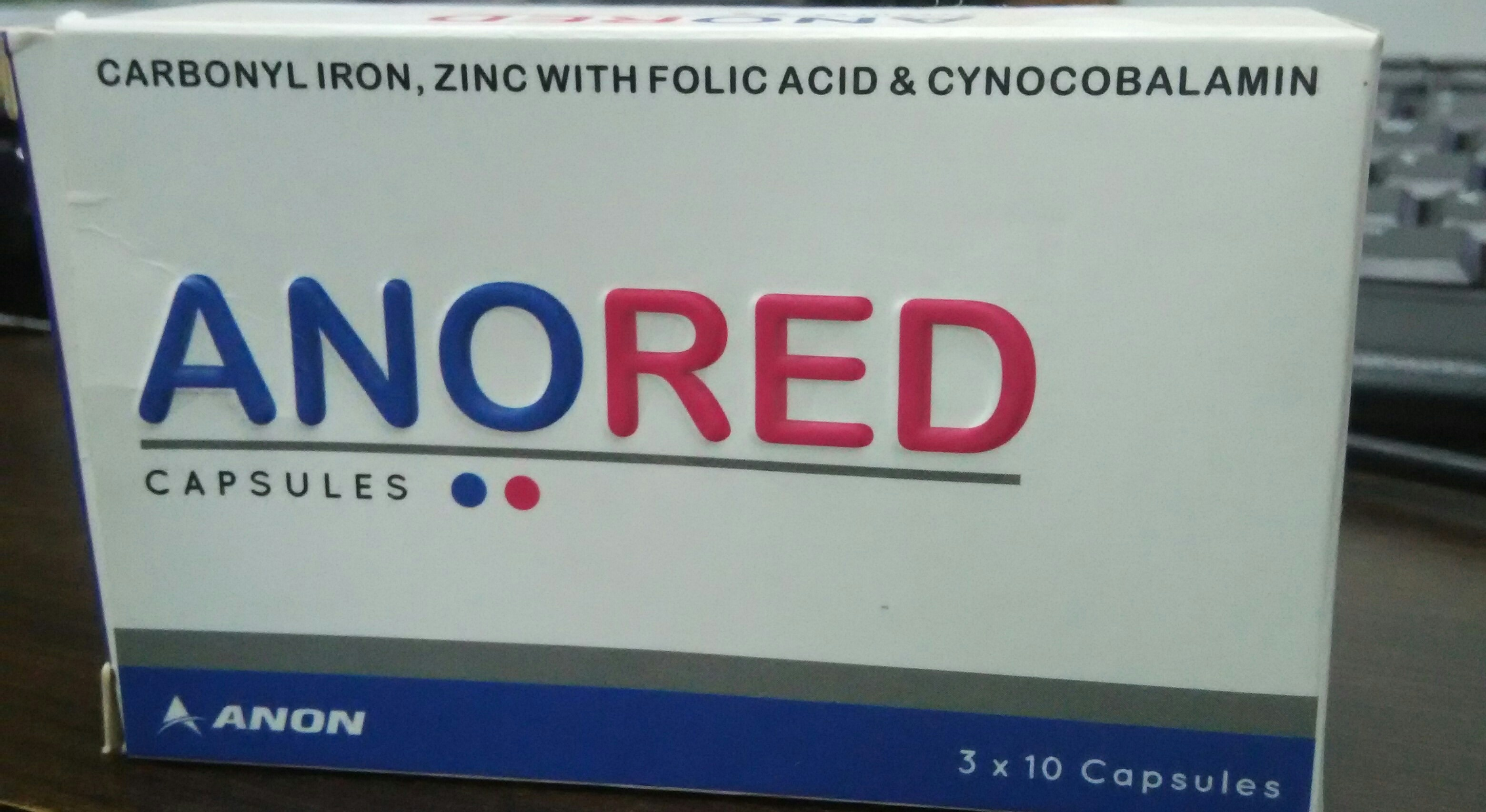 Zeon Biotech is the manufacturer of Carbonyl iron, Zinc with folic acid and cynocobalamin Capsules in ahmedabad.  For details and inquiry  Drop your message below