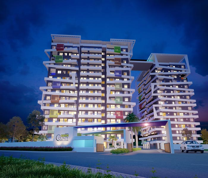 2BHK APARTMENT FOR SALE IN BOLAR MANGALORE               Green County
