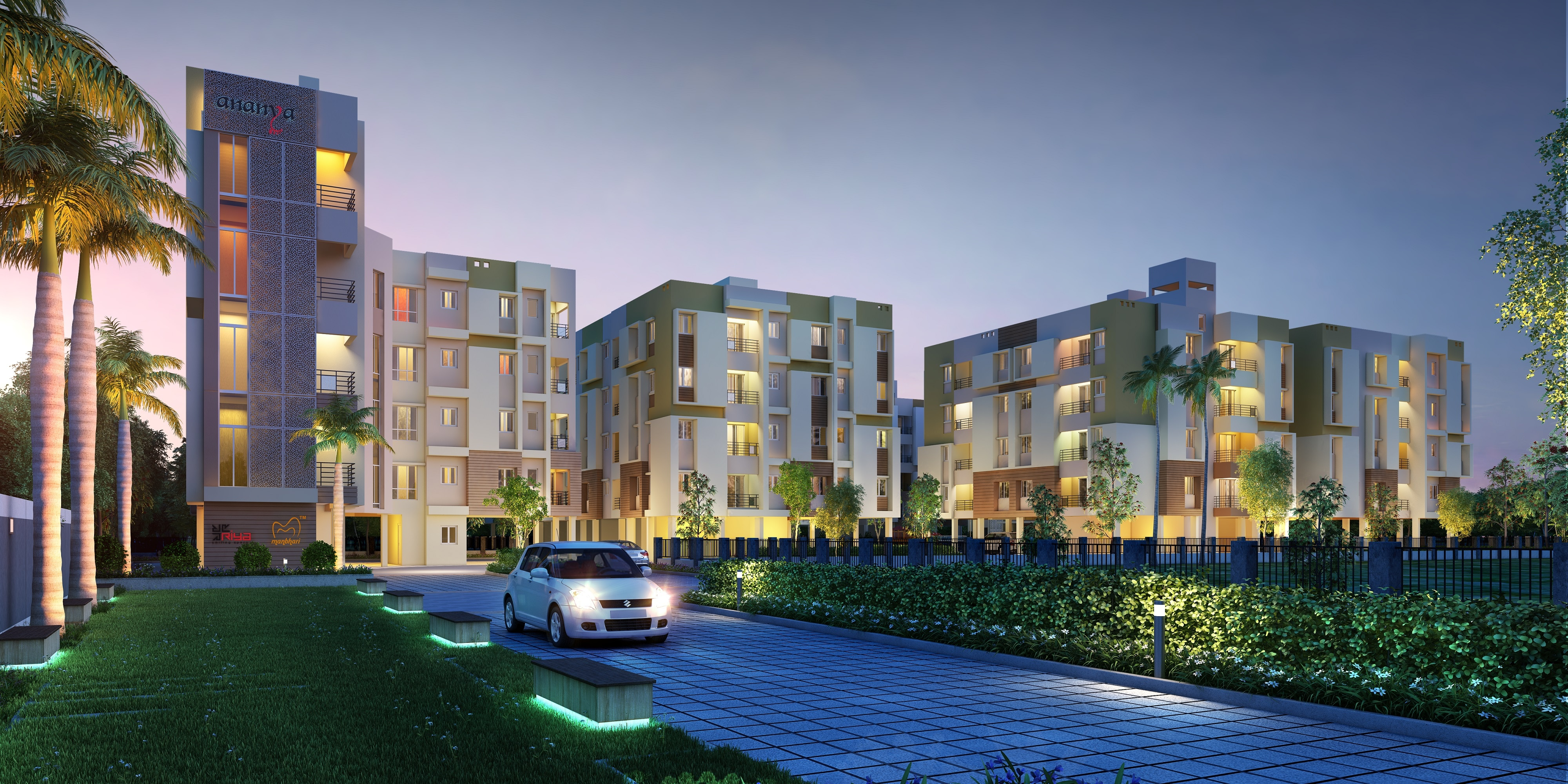 ANANYA - It is an abode that is spacious, full of modern amenities and is yet within your budget.