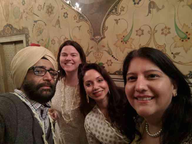 At Jaipur City Palace...