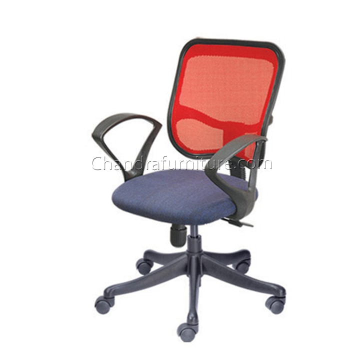 Make workdays more productive using comfortable seating. Chair being the most important factor for ease and comfort while you work, these Nice's metal revolving office chairs are the perfect solution. As you sit in these ergonomically designed office chair. The foam seat cushion and the rounded arms will keep you at rest all day long.  Office Chair  Office Furniture By Chandra Furniture.  Contact : 9785067778