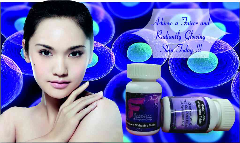 flawless glutathione tablet availible in Mumbai   veryone wanted to look young, smart and Beautiful. Fair Complexion is the most essential part of one's beauty, especially females. A person having fair complexion and glowing healthy skin feel more confident and energetic. Fair complexion, commonly known as the color of the skin depends on pigment melanin. The Color of the skin Vary person to person depending on their genetic reasons or their skin expose to the Sun UV Rays. Although there are lots of skins whitening pills available in the market but flawless skin whitening Glutathione tablet are the best skin whitening pills in term of its high quality and fast result. Each tablet flawless tablet each contain 500mg of pure Glutathione. *Softens and Whitens Skin - flawless tablet has some Specials ingredients that help to whiten and soften skin converting dark/yellow/brown pigmentation to pinkish white pigmentation. This is how it works to give you whiter, fairer and soften skin. Most of the dermatologists also reccommened it. This formula is really fruitful and very safe and effective for all age groups and skin types.  * Anti-Aging Elements - flawless tablet Glutathione has anti ageing elements which really helps in the collapse of oxidized fats, which is needed for carbohydrate metabolism.  * Antioxidant Properties – flawless tablet Glutathione also has special anti-oxidant properties which increase your immunity system, proctects Red Blood Cells and protecting White Blood Cells. And For medium brown skin: 1-3 months period For dark brown skin: 3-6 months period For very dark skin: 6-12 months period For black skin: minimum of 2 years or even more. How to use: The packet contains 60 capsules each of 1000mg Pure Glutathionealong with Alpha T-Acids Whiteners that helps you to get rid of dark complexion. – Intake 2 capsules everyday after breakfast and while going to bed. For best results, take the capsules with 1000mg Vitamin C.  www.flawlessmart.com