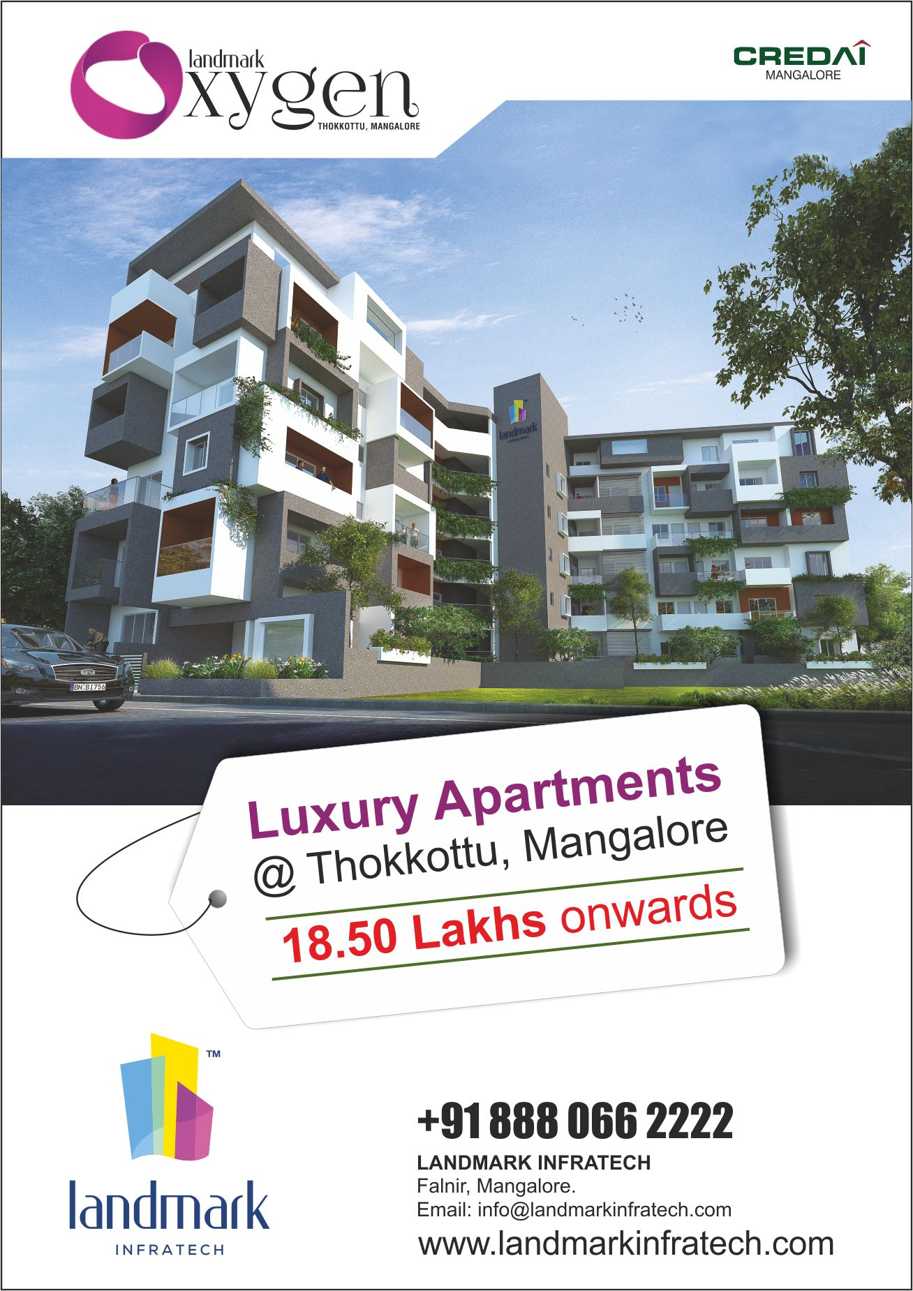 1BHK APARTMENT IN MANGALORE                           Oxygen