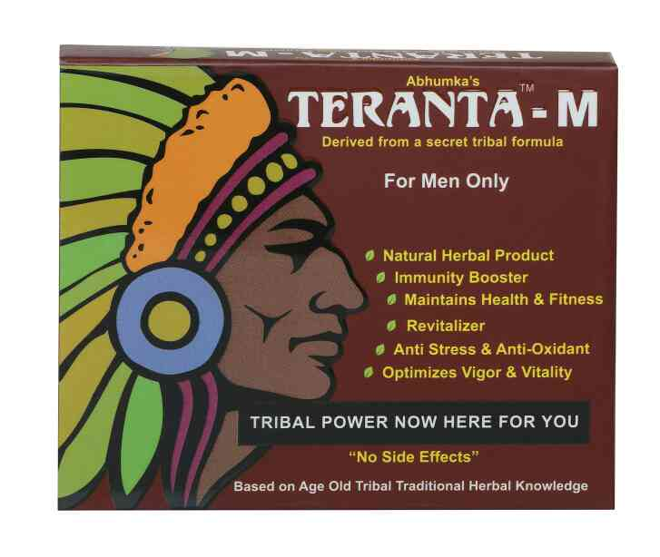 For vigor and vitality, tribal formula Teranta M is perfect for all men. Buy it now at www.abhumkaherbal.com