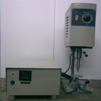 We are the Leading Manufacturer of Ultrasonic Sonicators (Processor/Emulsifier) in Mumbai, Maharashtra, India.     We are one of the prestigious manufacturers of Ultrasonic Sonicators (Processor/Emulsifier). Manufactured using premium grade raw materials, these processors are specially designed for pharmaceutical industry, chemical labs and various research institutes. The Ultrasonic Sonicators are widely used for:  Emulsification of immiscible liquids Degassing and De-aerting of Liquids Formulations Particle Dispersion/Disintegration (In small volumes batches of less than 100 ml)  The ultrasonic Sonicator generates high frequency vibrations by means of an S.S. velocity Horn which is immersed in the liquid to be processed. These vibrations give rise to millions of intense microscopic vacuum bubbles which form and implode at a very high rate (twenty thousand times per second).This phenomenon is known as CAVITATIONS. These cavitation gives rise to intense local pressure waves and micro-streaming of the liquid round the points of collapse which in turn produces high-shear gradients which is responsible for the above activities.  Some of the advantages of the Ultrasonic Sonicators are:  Microfined emulsion, homogenization More stable compared to other processes Very Flexible. It can be easily transferred from one batch to another without any intermediately operations like emptying, cleaning and refilling. The Sonicator can be easily transported to various locations of sample preparations. The ultrasonic Sonicators are available in 120 watts and 250 watts. However it can be developed based on customers specifications to meet diverse industrial requirements.   For More Info:-  http://www.transosonic.com/Ultrasonic_Disintegrator.html