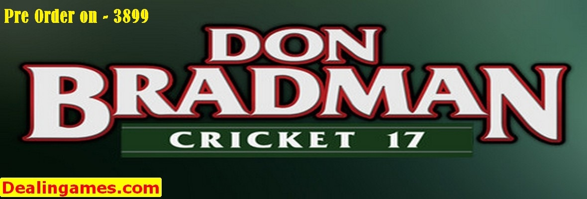 Now you can buy  your favourite game of ps4 from dealingames www.dealingames.com mo. 9893378688 Don Bradman Cricket 17 PS4 http://bit.ly/2grv2x5